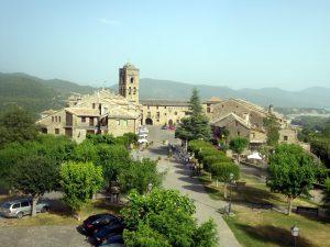Ainsa main square