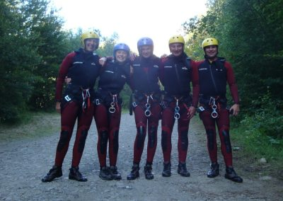 Activity Holiday canyoning