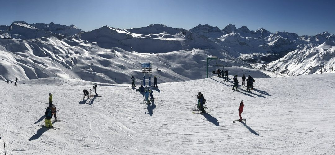 Skiing at Astun