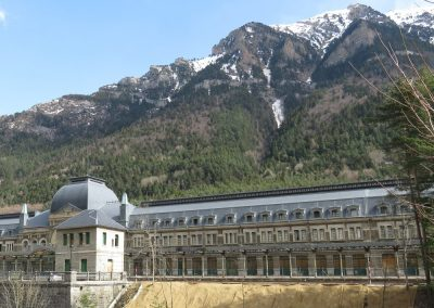 Canfranc Intenational Train Station