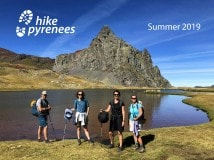 Pyrenees walking holiday brochure 2018
