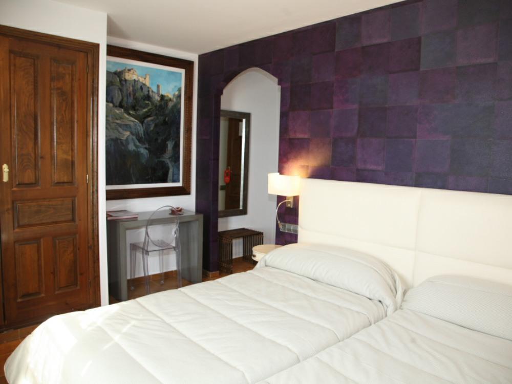 Double room Villa de Alquezar Hotel
