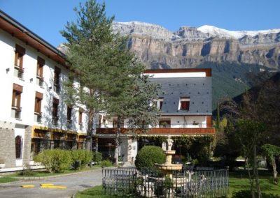 Hotel Ordesa front