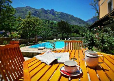 Hotel Picos de Europa pool