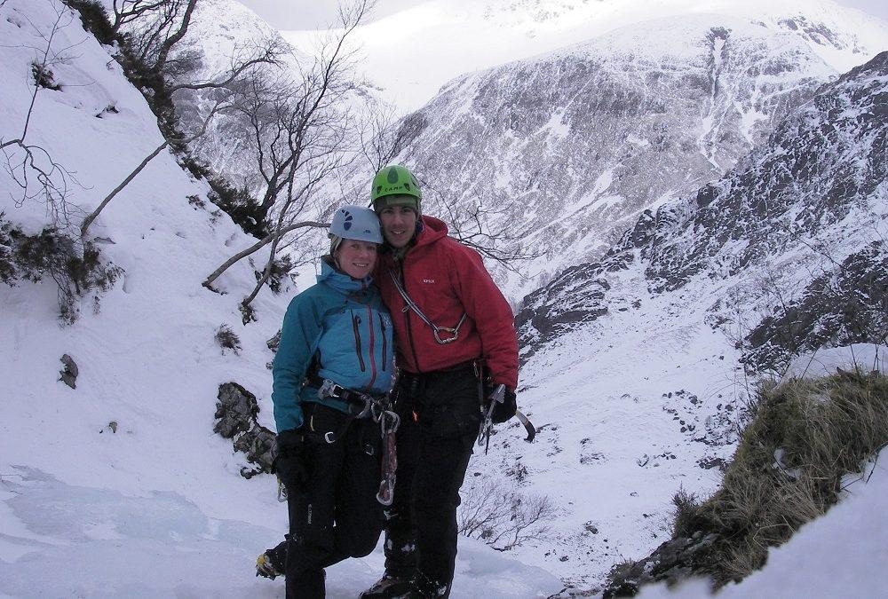 Hannah & Ken's Scottish winter