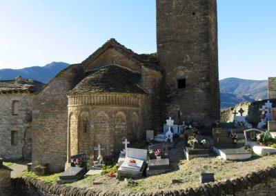 San Martin´s church Olivan