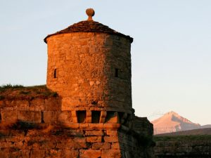 Medieval city in the Pyrenees