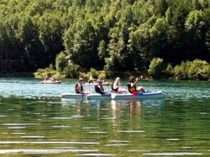 Kayaking in the Pyrenees