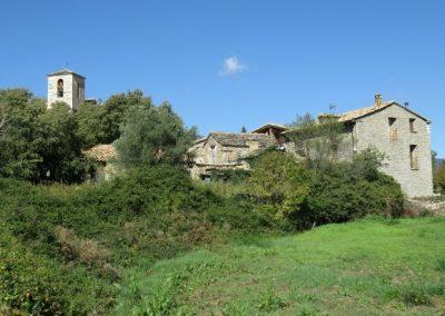 Lecina village