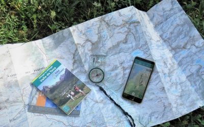 Free digital mapping for our Village to Village itinerary