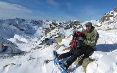 Snowshoeing Pic Peyreget