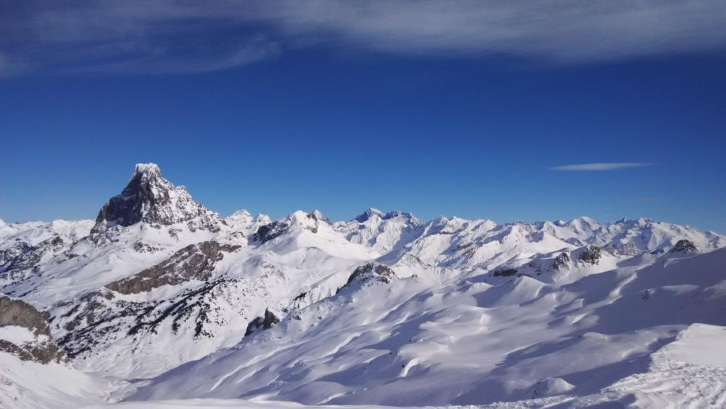 Ski touring afternoon to Col des Moines