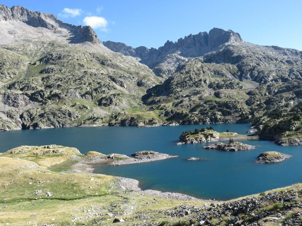 Pyrenees overnight hut hike