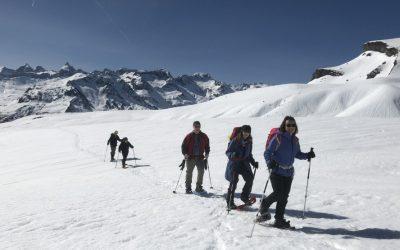 A fantastic week of snowshoeing