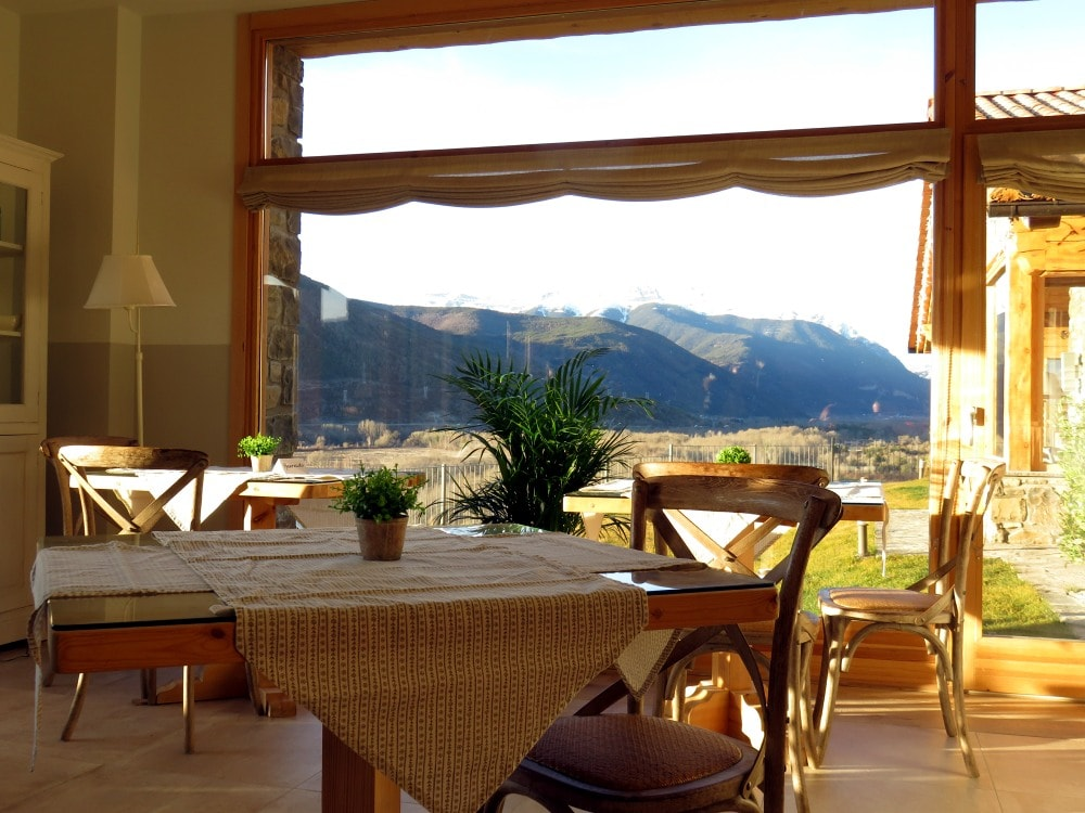 Hotel Viñas de Larrede restaurant