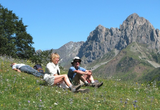Relaxing on Punta del Pacino