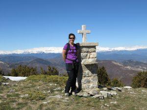 Rosa hiking Sierra de Guara