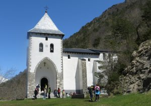 Santa Elena church in the Pyrenees