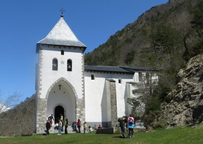 Santa Elena church in the Pyrenees