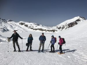 Pyrenees snowshoeing vacation