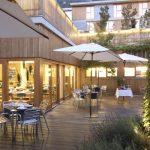 Hotel Tierra de Biescas restaurant terrace