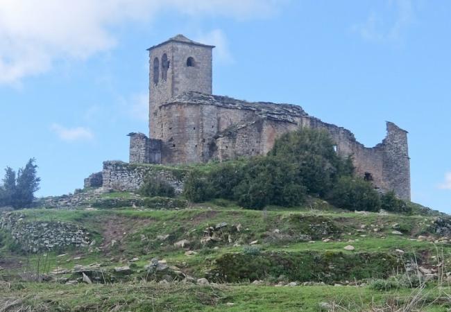 Villages Guara Abandoned Church