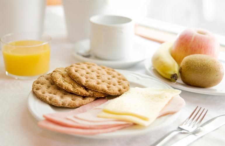 Hotel Sauce breakfast