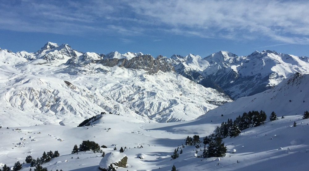 Snow conditions in Formigal and the Pyrenees