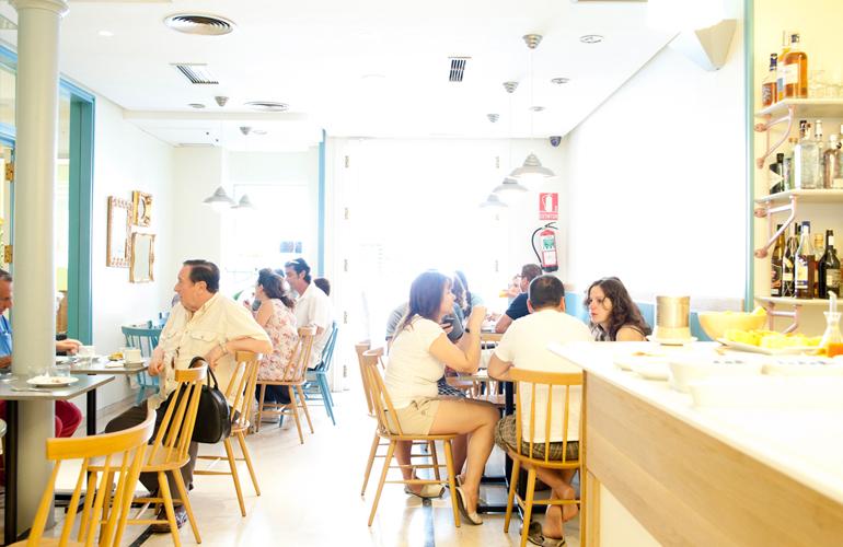 Hotel Sauce's cafeteria