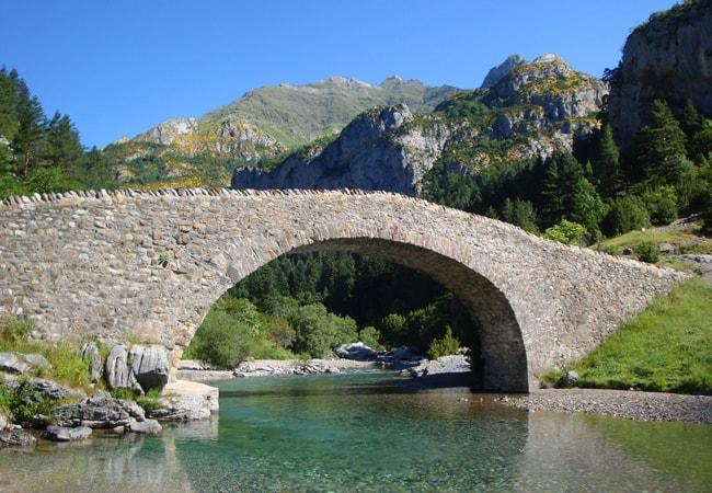 The bridge at Bujaruelo