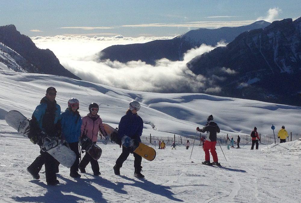 Great skiing at Panticosa