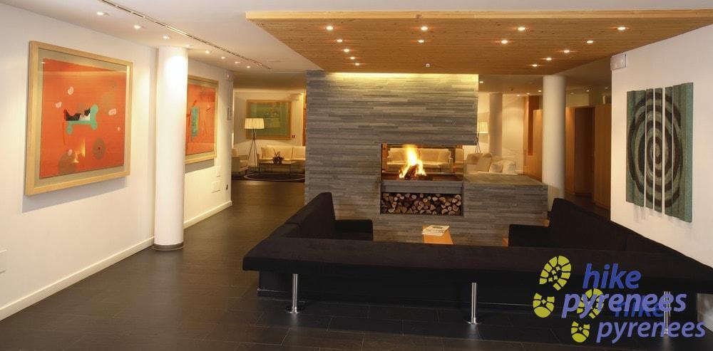 Hotel Tierra de Biescas - Living room