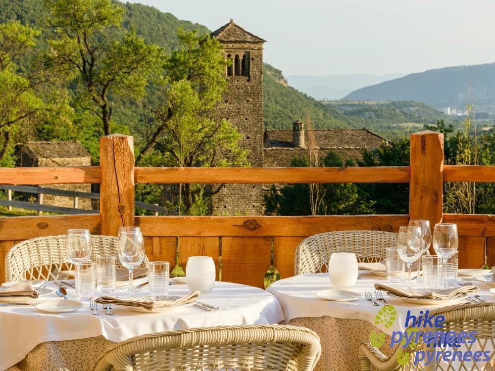 Hotel Viñas de Larrede Terraca