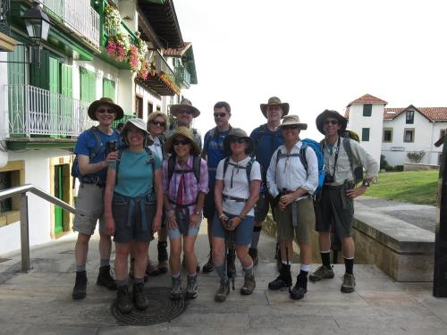 Hiking club in the Basque Country