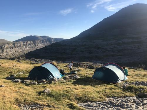 Our tents above the Ordesa Canyon