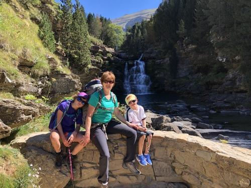 At the Grados de Soasa waterfalls