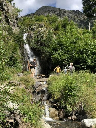 Waterfalls on the GR11