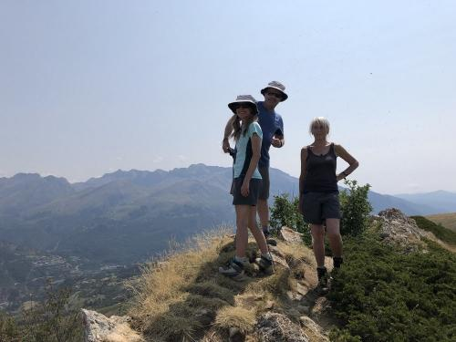 On the summit of Cochata