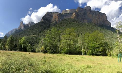 The cliffs of Ordesa