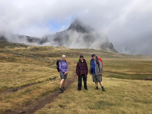 A misty Pico Anayet
