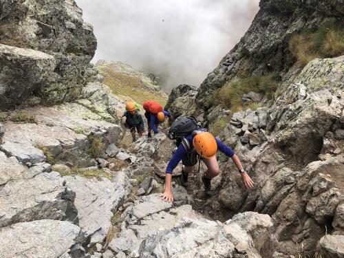 Scrambling on Pico Anayet