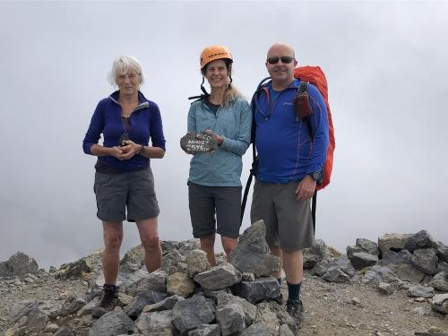 On the summit of Pico Anayet