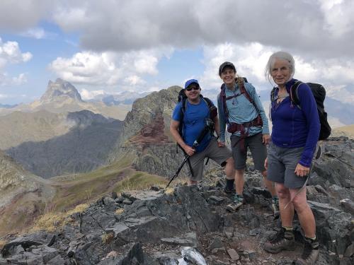 On the summit of Vertice de Anayet