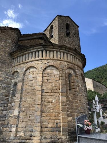 The romanesque church of Olivan