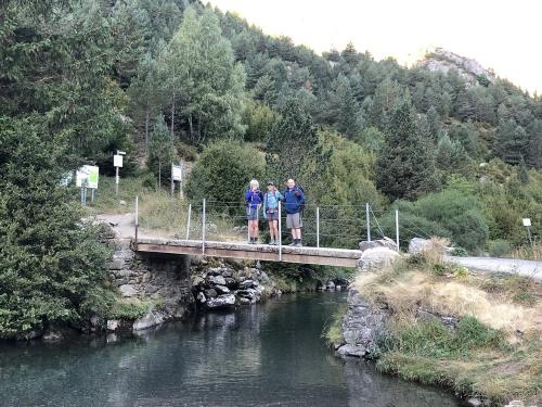 Bridge of the Rio Aguas Limpias