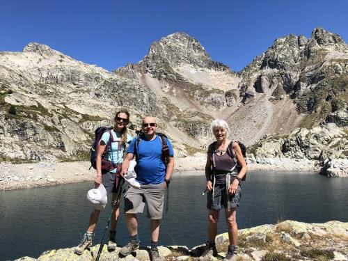 At the highest of the Arriel lakes
