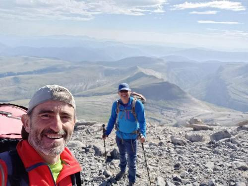 On the summit of Punta de las Olas (3022m)