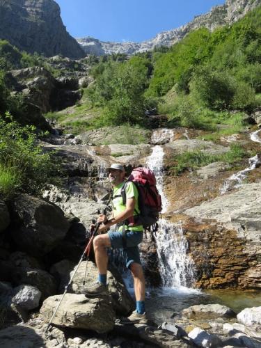 Waterfalls in Pineta