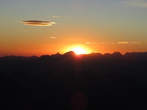Sunrise over Pineta