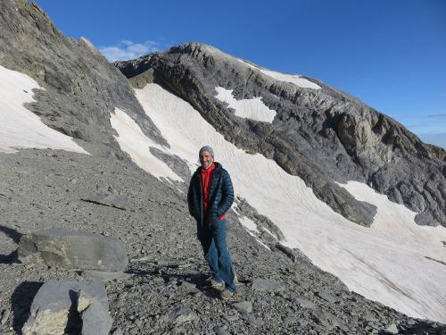 Snowfield on Monte Perdido